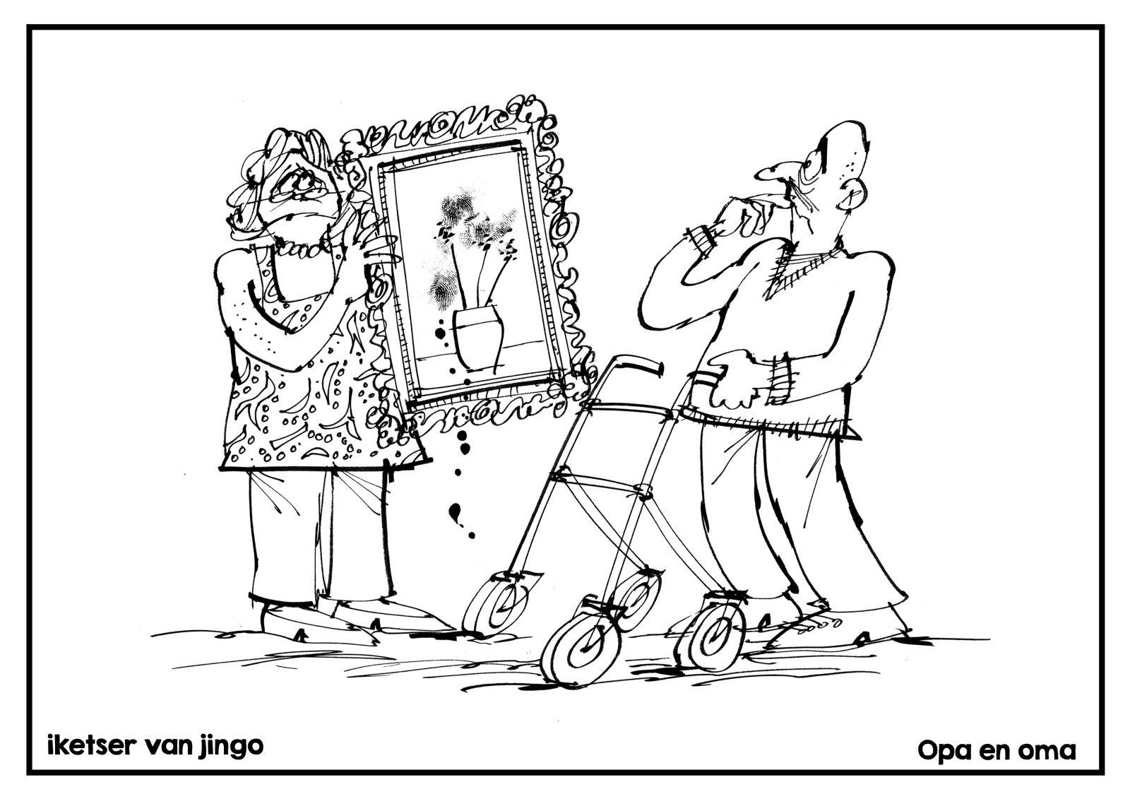 Nieuw Kleurplaten Voor Oma En Opa Krijg Duizenden
